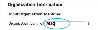 04 Organization Identifier