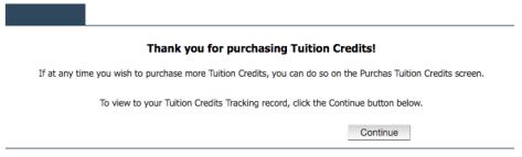 15 Credit Confirmation