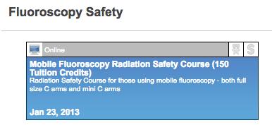 16 Select Fluoro Course